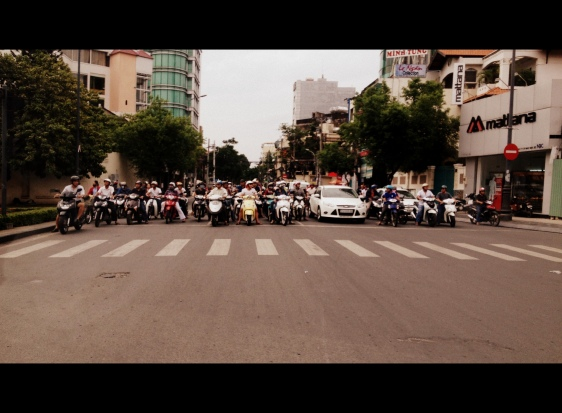 Ready, Steady, Go! Morning Traffic - Ho Chi Minh City